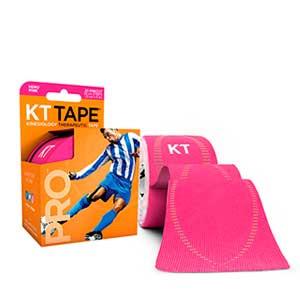 Cinta kinesiológica KT Tape Pro precortada - Tira muscular kinesiológica KT Tape (5 cm x 5 m) - rosa - trasera
