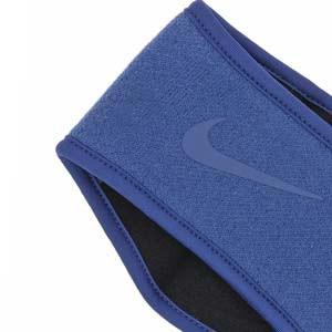 Cinta de pelo Nike Knit - Cinta de pelo elástica Nike - azul