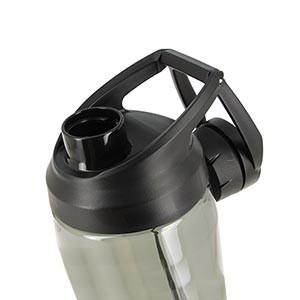 Botellín Nike Hypercharge Chug 700 ml - Botellín de agua para entrenamiento Nike de 700 ml - negro
