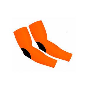 Manguitos Rinat portero niño - Manguitos de portero infantiles compresivos y antiabrasión Rinat - naranjas