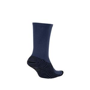 Calcetines media caña Nike Squad - Calcetines media caña para entrenamiento fútbol Nike - azul marino - trasera