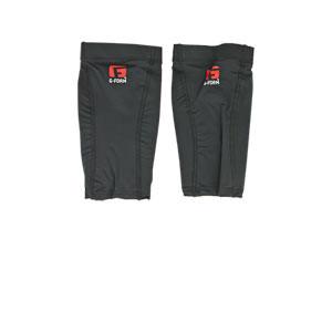 Espinilleras G-Form Pro-S Compact - Espinilleras de fútbol G-Form con mallas de sujeción - negras