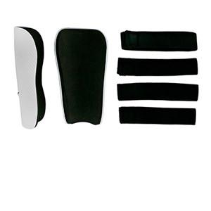 Nike Guard  - Espinilleras de fútbol infantiles Nike con cintas de velcro - blancas - trasera