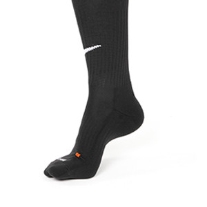 Medias Nike Classic 2 acolchados - Medias de fútbol acolchadas Nike - negras - empeine