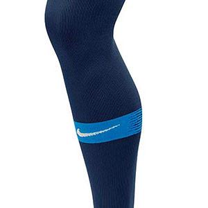 Medias Nike Matchfit - Medias de fútbol Nike - azules - frontal