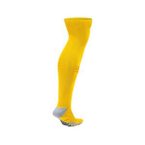 Medias Nike Matchfit OTC - Medias de fútbol Nike Matchfit OTC - amarillas - trasera