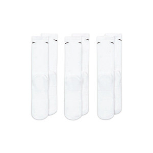 Pack calcetines tobilleros Nike Everyday Cushion Ankle 3p - Pack de 3 calcetines Nike Everiday Cushion tobilleros - blancos - trasera