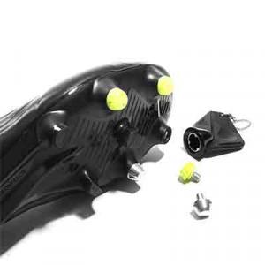 Taco goma TPU 6mm botas fútbol adidas Studiamonds amarillo - 1 ud de taco de goma delantero de repuesto para botas adidas (excepto World Cup y Kaiser) de 6 mm - amarillo flúor