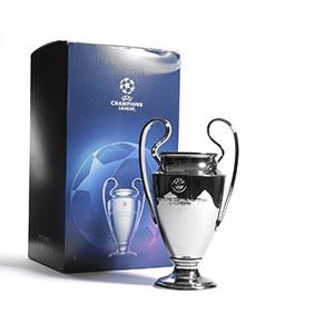 Mini Copa Champions League - Figura réplica copa Champions League 150 mm - plateada - frontal