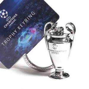 Llavero UEFA Champions League 45 mm - Llavero de la copa de la UEFA Champions League de 45 mm - plateado - detalle