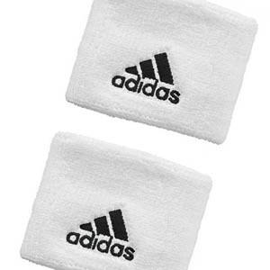 Muñequeras rizo adidas - Muñequeras básicas algodón adidas (2 uds) - Blanco