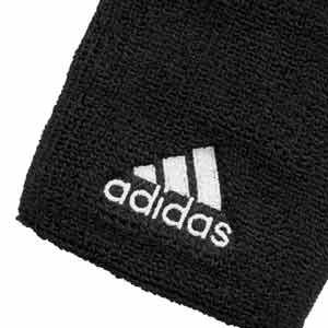 Muñequeras rizo adidas - Muñequeras básicas algodón adidas (2 uds) - Negro