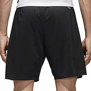 Short adidas Parma 16 - Pantalón corto de poliéster adidas - Negro - trasera