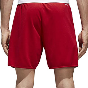 Short adidas Parma 16 - Pantalón corto adidas Parma 16 - Rojo - trasera