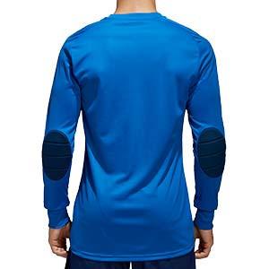 Camiseta portero adidas Assita 17 - Camiseta de portero de manga larga acolchada adidas - Azul - trasera