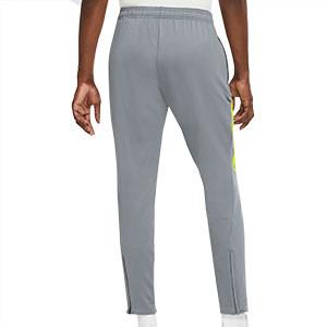 Pantalón Nike FC Essential - Pantalón largo de calle Nike F.C. - gris - trasera