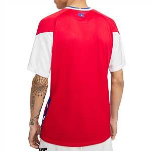 Camiseta Nike Chile 2020 2021 Stadium - Camiseta primera equipación Nike de la selección de Chile 2020 2021 - roja - trasera