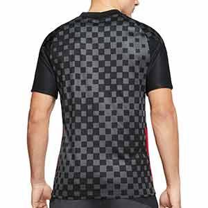 Camiseta Nike 2a Croacia 2020 2021 Stadium - Camiseta segunda equipación Nike selección de Croacia 2020 2021 - gris oscuro - trasera