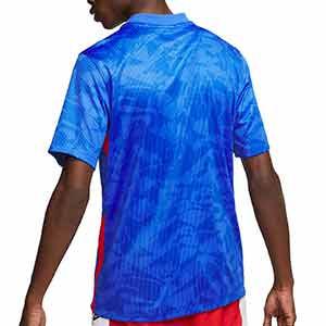 Camiseta Nike Inglaterra 2a 2020 2021 Stadium - Camiseta segunda equipación Nike selección de Inglaterra 2020 2021 - azul - trasera