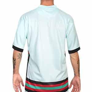 Camiseta Nike Portugal 2a 2020 2021 Stadium - Camiseta de la segunda equipación Nike de la selección de Portugal 2020 2021 - verde turquesa - trasera