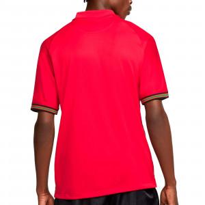 Camiseta Nike Portugal 2020 2021 Stadium - Camiseta primera equipación selección de Portugal 2020 2021 - roja - trasera