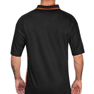Camiseta Nike Holanda 2a 2020 2021 Stadium - Camiseta segunda equipación selección de Holanda 2020 2021 - negro - trasera