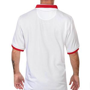 Camiseta Nike Polonia 2020 2021 Stadium - Camiseta primera equipación Nike selección de Polonia 2020 2021 - blanca - trasera