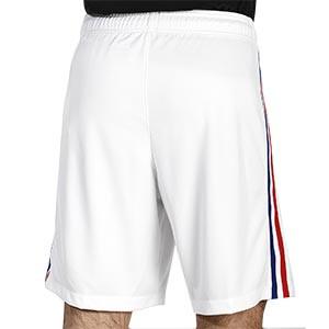 Short Nike 2a Francia 2020 2021 Stadium - Pantalón corto segunda equipación Nike selección Francia 2020 2021 - blanco - trasera