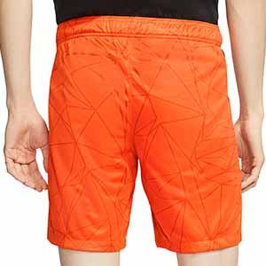 Short Nike Holanda 2020 2021 Stadium - Pantalón corto primera equipación Nike selección Holanda 2020 2021 - naranja - trasera