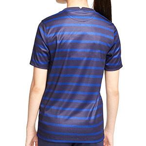 Camiseta Nike Francia niño 2020 2021 Stadium - Camiseta infantil primera equipación Nike de la selección de Francia 2020 2021 - azul marino - trasera