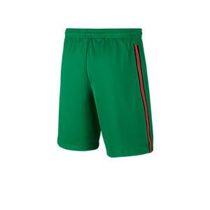 Short Nike Portugal niño 2020 2021 Stadium - Pantalón corto infantil primera equipación Nike selección Portugal 2020 2021 - verde - trasera