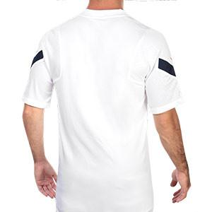 Camiseta Nike Francia entreno 2020 2021 Strike - Camiseta de entrenamiento de la selección de Francia 2020 2021 - blanca - trasera