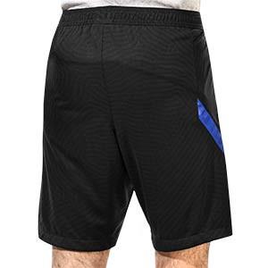 Short Nike Holanda entreno 2020 2021 Strike - Pantalón corto de entrenamiento Nike de la selección holandesa 2020 2021 - negro - trasera