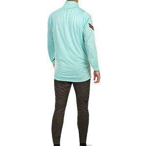 Chándal Nike Portugal 2020 2021 Strike - Chándal Nike de la selección portuguesa 2020 2021 - verde turquesa y oscuro - trasera