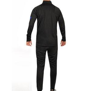 Chándal Nike Holanda 2020 2021 Strike - Chándal Nike de la selección holandesa 2020 2021 - negro - trasera