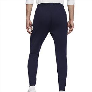 Pantalón Nike Francia entreno 2020 2021 Strike - Pantalón largo entreno Nike selección francesa 2020 2021 - azul marino - trasera