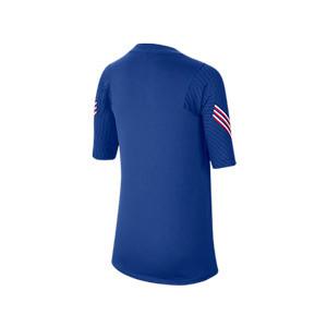 Camiseta Nike Inglaterra niño entreno 2020 2021 Strike - Camiseta infantil de entrenamiento de la selección inglesa 2020 2021 - azul - trasera