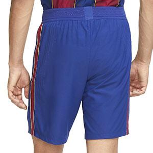 Short Nike Barcelona Vapor Match 2020 2021 - Pantalón corto Nike auténtica primera equipación FC Barcelona 2020 2021 - azul - trasera
