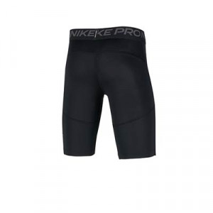 Mallas Nike Pro niño - Mallas cortas de fútbol infantiles Nike - negras - trasera