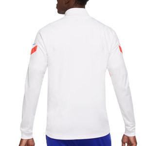 Chaqueta Nike Chelsea Dry Strike UCL 2020 2021 - Chaqueta chándal Nike del Chelsea 2020 2021 - blanca - trasera