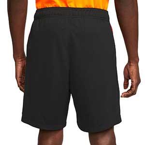 Short Nike Holanda 2a 2020 2021 Stadium - Pantalón corto segunda equipación Nike selección holandesa 2020 2021 - negro - trasera