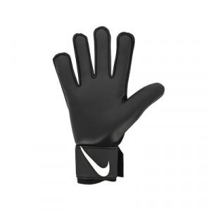 Nike GK Match Jr - Guantes de portero infantiles Nike corte flat - negros y grises - trasera