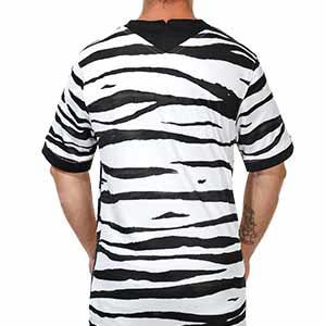 Camiseta Nike 2a Korea Stadium 2020 2021 - Camiseta segunda equipación selección Corea del Sur Nike Stadium 2020 2021 - blanca y negra - trasera