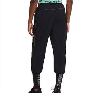 Pantalón Nike FC Woven Cuff - Pantalón largo de calle Nike F.C. - negro - trasera