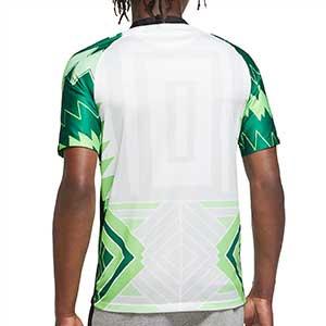 Camiseta Nike Nigeria 2020 2021 Stadium - Camiseta primera equipación Nike selección de Nigeria 2020 2021 - blanca y verde - trasera