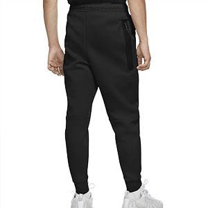 Pantalón Nike Sportswear Tech Fleece Jogger - Pantalón largo de calle Nike - negro - trasera