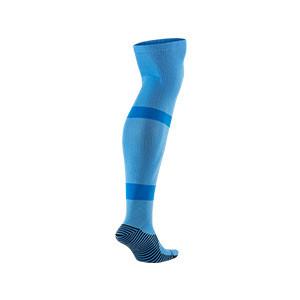 Medias Nike Matchfit Knee High Team - Medias largas de futbol Nike - azules celeste - trasera