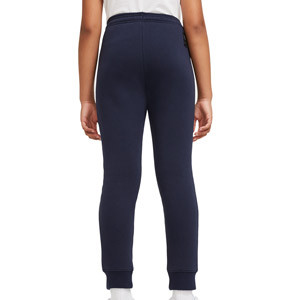 Pantalón Nike Barcelona niño Fleece El Clásico - Pantalón largo de algodón infantil Nike del FC Barcelona - azul marino - trasera