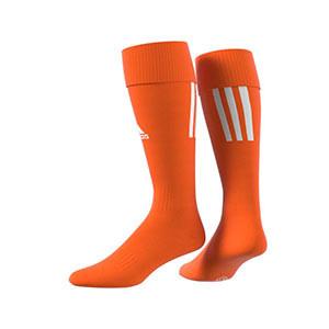 Medias adidas Santos 18 - Medias de fútbol adidas - naranjas - trasera