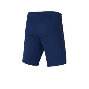 Short Nike Tottenham 2021 2022 niño Dri-Fit Stadium - Pantalón corto infantil primera equipación Nike del Tottenham Hotspur 2021 2022 - azul marino - trasera